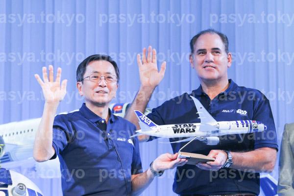 ANAとSWが『STAR WARSプロジェクト』計3機、特別塗装機運航