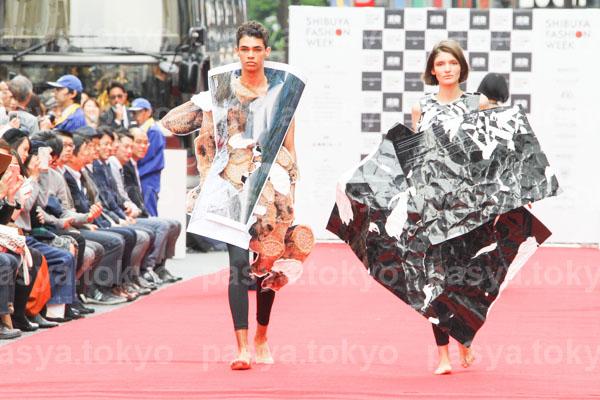 Amazon Fashion Week TOKYO (AmazonFWT)最終日・渋谷ファッションウイーク