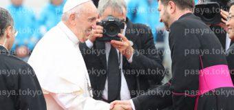 ローマ教皇 来日 帰国へ